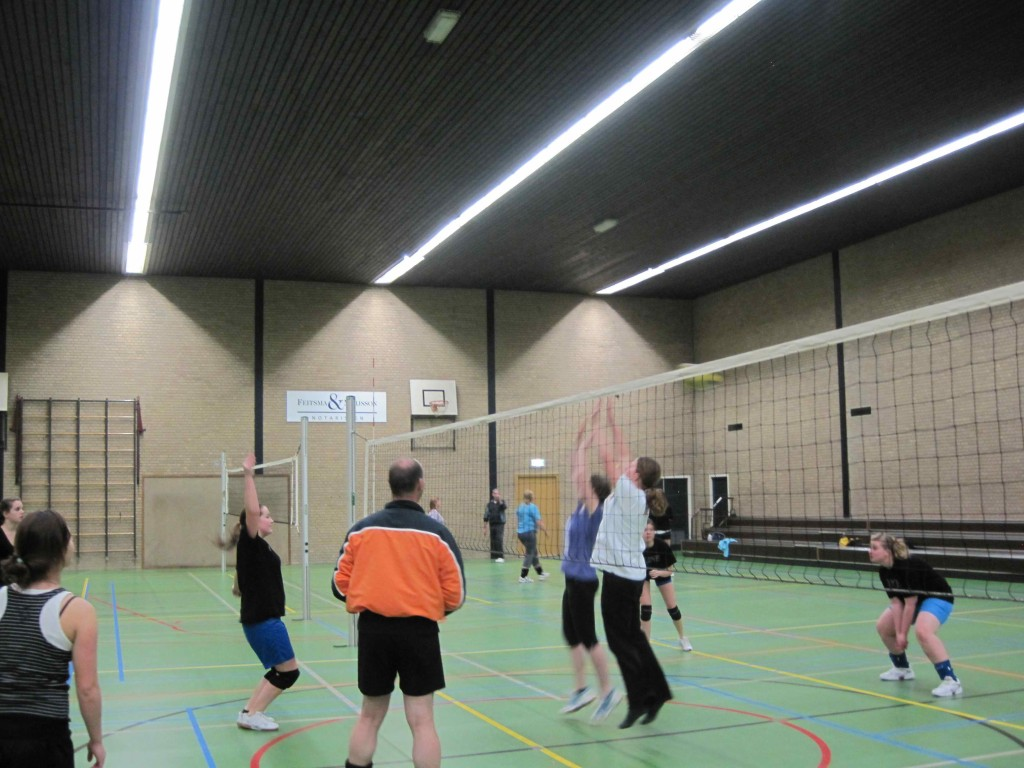 Training in de sporthal